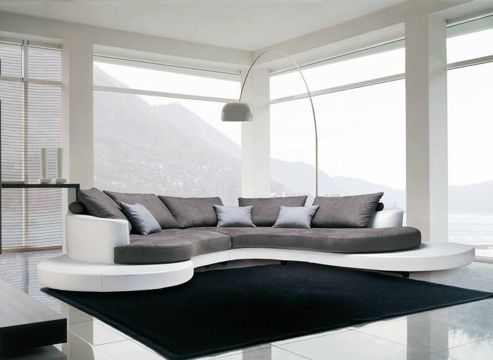 Γωνιακός καναπές Circle