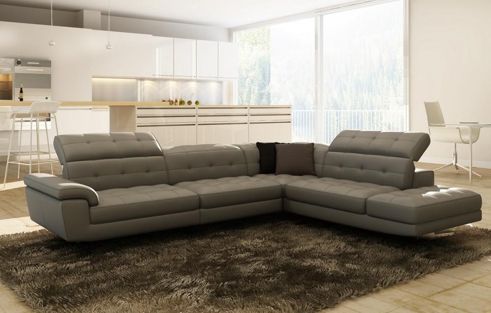 Γωνιακός Καναπές Grey