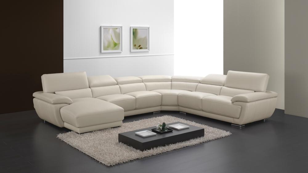 Γωνιακός καναπές με ανακλήσεις Divani