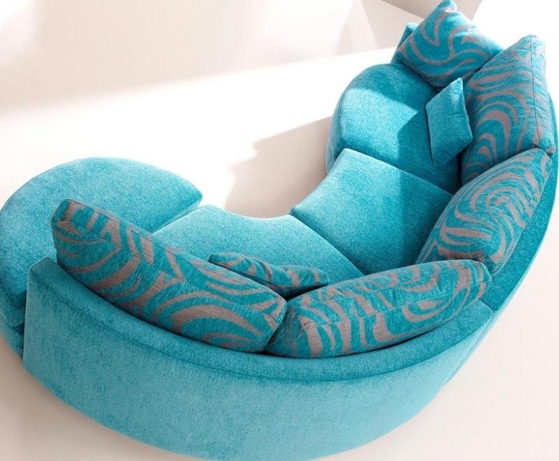 Γωνιακός καναπές minimal round
